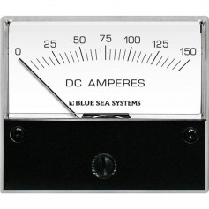 Blue Sea 8018 DC Analog Ammeter - 2-3-4- Face- 0-150 Amperes DC