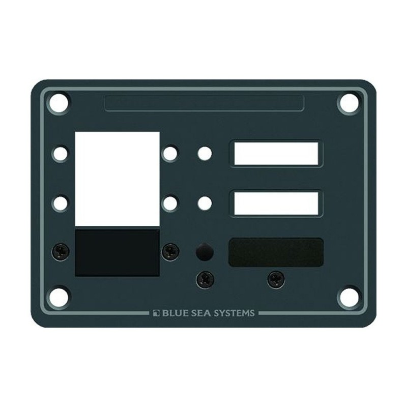 Blue Sea 8088 3 Position DC C-Series Panel - Blank