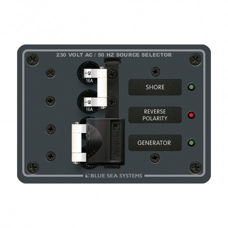 Blue Sea 8132 AC Toggle Source Selector -230V- - 2 Sources