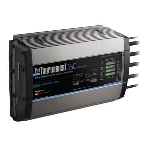 ProMariner ProTournament 360elite Quad Charger - 36 Amp- 4 Bank