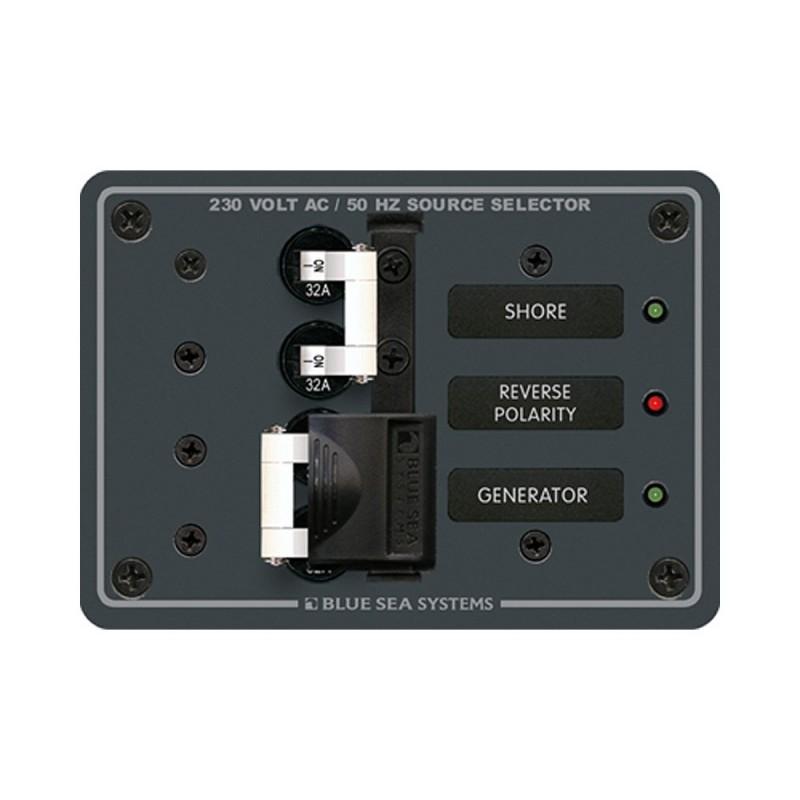 Blue Sea 8161 AC Toggle Source Selector -230V- - 2 Source