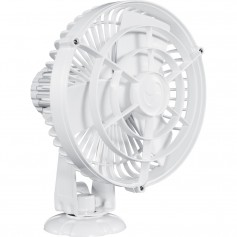 Caframo Kona 817 12V 3-Speed 7- Waterproof Fan - White