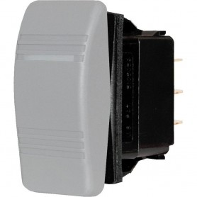 Blue Sea 8219 Water Resistant Contura III Switch - Gray