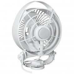 Caframo Maestro 12V 3-Speed 6- Marine Fan w-LED Light - White