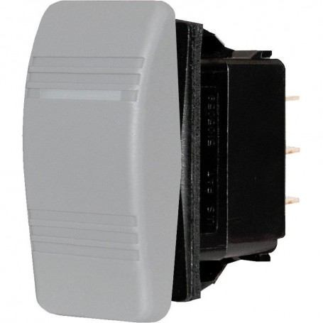 Blue Sea 8221 Water Resistant Contura III Switch - Gray