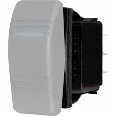 Blue Sea 8230 Water Resistant Contura III Switch - Gray