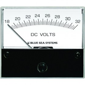 Blue Sea 8240 DC Analog Voltmeter - 2-3-4- Face- 18-32 Volts DC