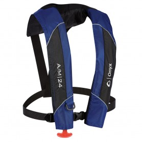 Onyx A-M-24 Automatic-Manual Inflatable PFD Life Jacket - Blue
