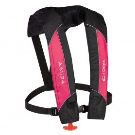 Onyx A-M-24 Automatic-Manual Inflatable PFD Life Jacket - Pink