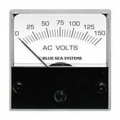 Blue Sea 8244 AC Analog Micro Voltmeter - 2- Face- 0-150 Volts AC