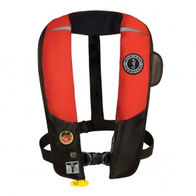 Mustang HIT Inflatable Automatic PFD w-Harness - Red-Black