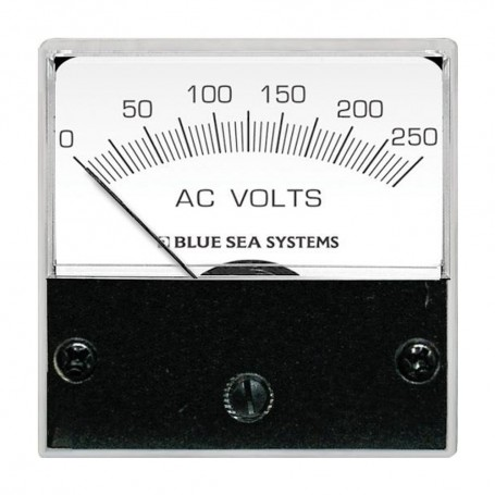 Blue Sea 8245 AC Analog Micro Voltmeter - 2- Face- 0-250 Volts AC