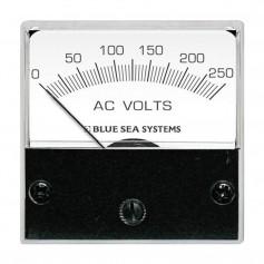 Blue Sea 8245 AC Analog Micro Voltmeter - 2- Face- 0-250 Volts AC