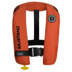 Mustang MIT 100 Inflatable Automatic PFD w-Reflective Tape - Orange