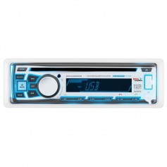 Boss Audio MR762BRGB Single DIN Bluetooth Enabled In-Dash MP3-CD-CDRW-AM-FM Receiver