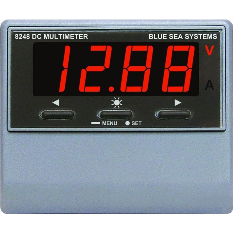 Blue Sea 8248 DC Digital Multimeter w- Alarm