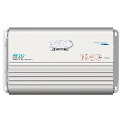Boss Audio MR1950 Marine 5 Channel Full Range Class A-B Power Amplifier - 1950W