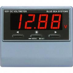Blue Sea 8251 DC Digital Voltmeter w-Alarm