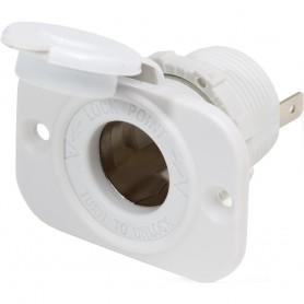 Blue Sea 12V Dash Socket - White