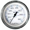 Faria Chesapeake White SS 4- Speedometer - 60MPH -Mechanical-