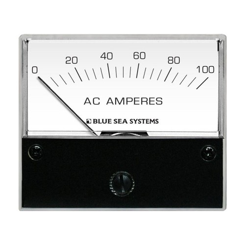 Blue Sea 8258 AC Analog Ammeter - 2-3-4- Face- 0-100 Amperes AC