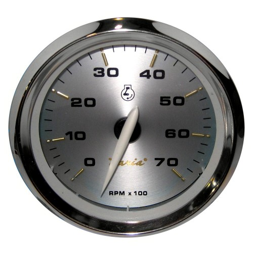 Faria Kronos 4- Tachometer - 7-000 RPM -Gas - All Outboards-
