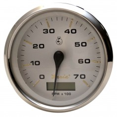 Faria Kronos 4- Tachometer w-Hourmeter - 7-000 RPM -Gas - Outboard-