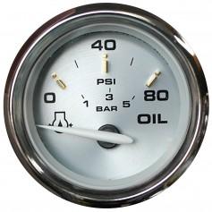 Faria Kronos 2- Oil Pressure Gauge - 80 PSI