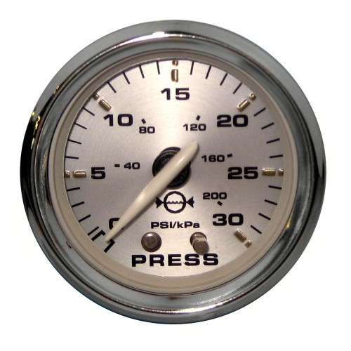 Faria Kronos 2- Water Pressure Gauge Kit - 30 PSI