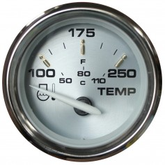 Faria Kronos 2- Water Temperature Gauge -100-250 DegreeF-