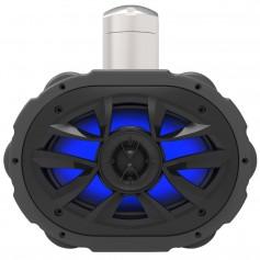 Boss Audio MRWT69RGB 6- x 9- Waketower Speaker w-RGB LED Lights - Black