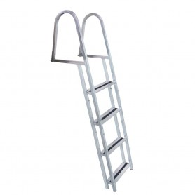 Dock Edge STAND-OFF Aluminum 4-Step Ladder w-Quick Release