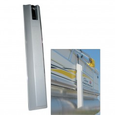 Dock Edge -TOON Pontoon Boat Fender - 36- - Grey