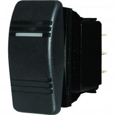 Blue Sea 8285 Water Resistant Contura III Switch - Black