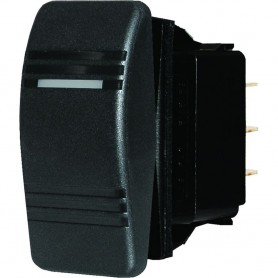 Blue Sea 8288 Water Resistant Contura III Switch - Black