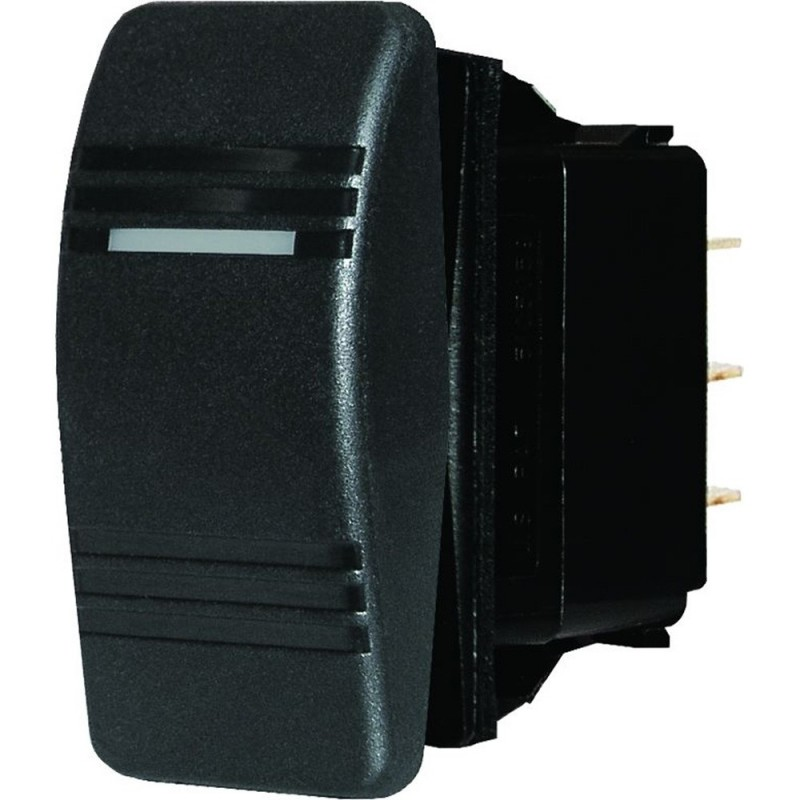 Blue Sea 8289 Water Resistant Contura III Switch - Black