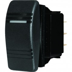 Blue Sea 8290 Water Resistant Contura III Switch - Black