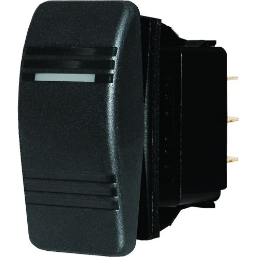 Blue Sea 8290 Water Resistant Contura Switch - Black