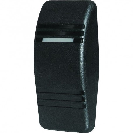 Blue Sea 8294 Contura Switch Actuator - Black - Single Lens
