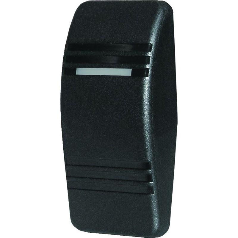 Blue Sea 8294 Contura Switch Actuator - Black - Single Lens