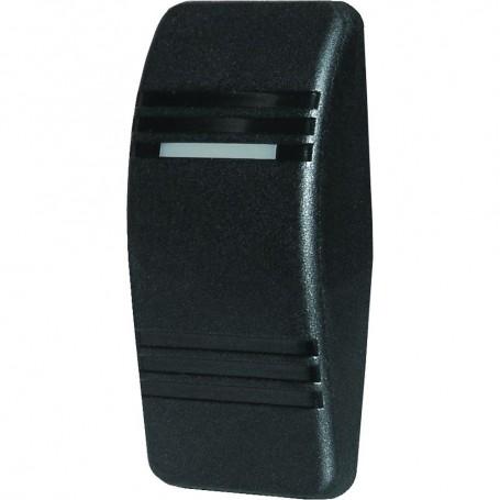 Blue Sea 8295 Contura Switch Actuator - Black - Double Lense