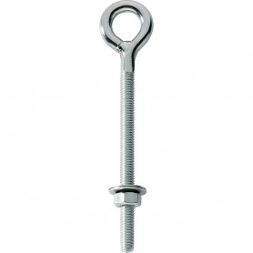 Ronstan Eye Bolt - Welded Eye - 3-16- Thread x 3- Long Stud