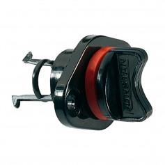 Ronstan Drain Plug - Housing - Coarse Thread - Black Nylon