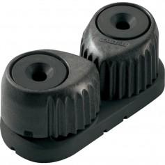 Ronstan C-Cleat Cam Cleat - Medium - Black w-Black Base