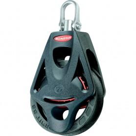 Ronstan Series 55 Ball Bearing Orbit Block - Single - Becket - Swivel Head