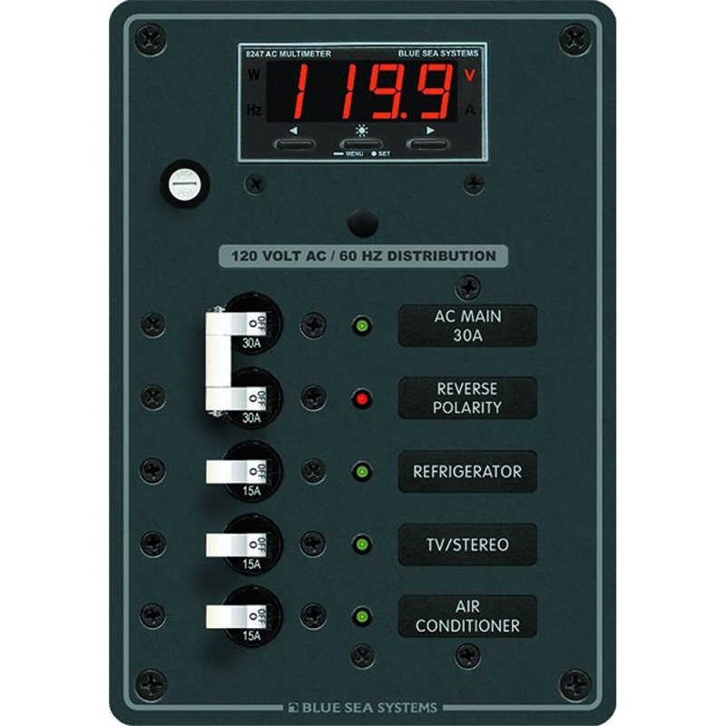 Blue Sea 8405 AC Main - 3 Positions