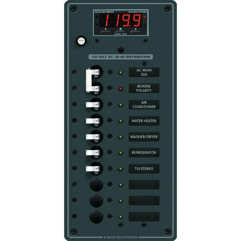 Blue Sea 8406 AC Main - 8 Positions