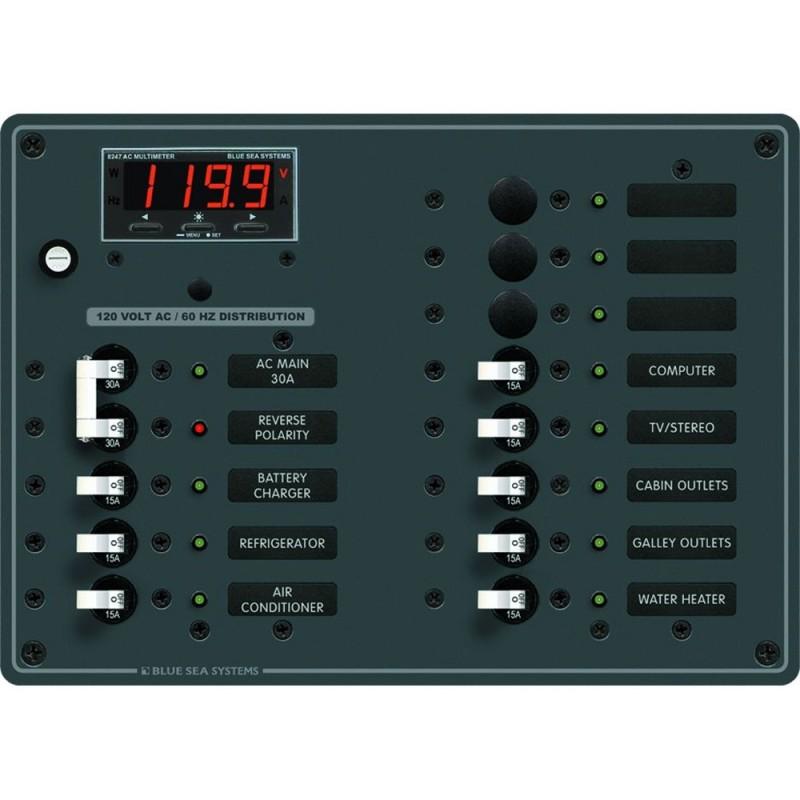 Blue Sea 8407 AC Main - 11 Positions