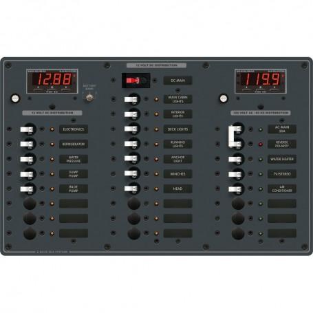 Blue Sea 8408 AC Main - 6 Positions - DC Main - 18 Positions
