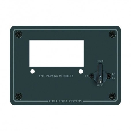 Blue Sea 8410 120-240 AC Digital Meter Panel
